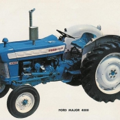 51 ford 4000 major